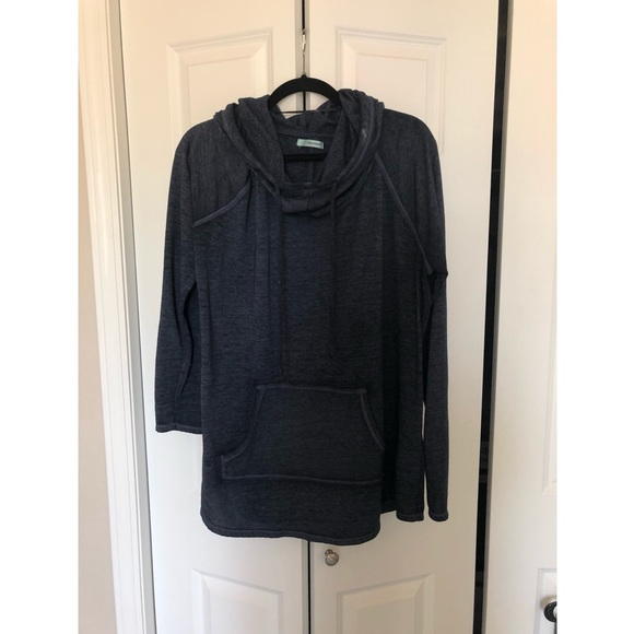 Maurices Tops - Navy distressed hoodie
